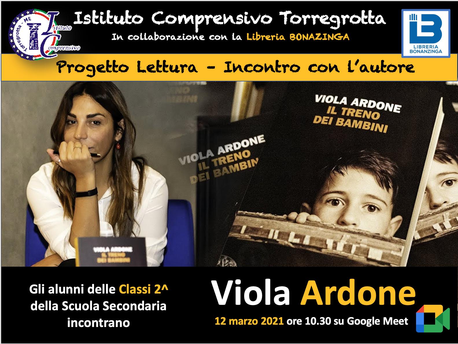 Incontro con la scrittrice Viola Ardone, autrice del romanzo